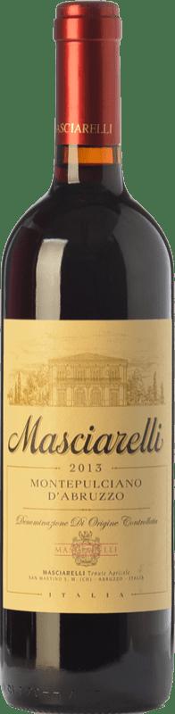 11,95 € Envoi gratuit | Vin rouge Masciarelli D.O.C. Montepulciano d'Abruzzo Abruzzes Italie Montepulciano Bouteille 75 cl