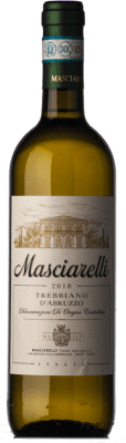 9,95 € Envoi gratuit | Vin blanc Masciarelli D.O.C. Trebbiano d'Abruzzo Abruzzes Italie Trebbiano d'Abruzzo Bouteille 75 cl