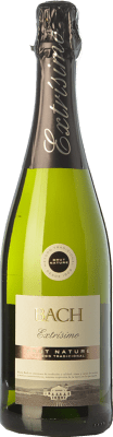 4,95 € Free Shipping | White sparkling Bach Extrísimo Brut Nature Joven D.O. Cava Catalonia Spain Xarel·lo, Chardonnay, Parellada Bottle 75 cl. | Thousands of wine lovers trust us to get the best price guarantee, free shipping always and hassle-free shopping and returns.