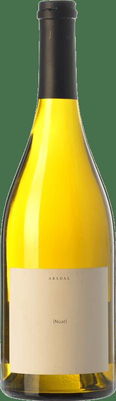 27,95 € Free Shipping | White wine Masies d'Avinyó Abadal Nuat Crianza D.O. Pla de Bages Catalonia Spain Picapoll Bottle 75 cl