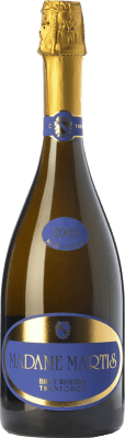 89,95 € Free Shipping   White sparkling Maso Martis Riserva Madame Martis Reserva 2007 D.O.C. Trento Trentino Italy Pinot Black, Chardonnay, Pinot Meunier Bottle 75 cl.   Thousands of wine lovers trust us to get the best price guarantee, free shipping always and hassle-free shopping and returns.