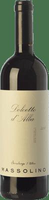 12,95 € Kostenloser Versand | Rotwein Massolino D.O.C.G. Dolcetto d'Alba Piemont Italien Dolcetto Flasche 75 cl