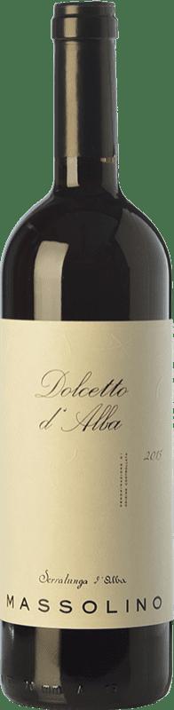 12,95 € Envío gratis | Vino tinto Massolino D.O.C.G. Dolcetto d'Alba Piemonte Italia Dolcetto Botella 75 cl