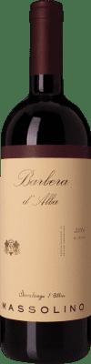 14,95 € Kostenloser Versand | Rotwein Massolino D.O.C. Barbera d'Alba Piemont Italien Barbera Flasche 75 cl