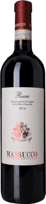 19,95 € Free Shipping | Red wine Massucco D.O.C.G. Roero Piemonte Italy Nebbiolo, Arneis Bottle 75 cl