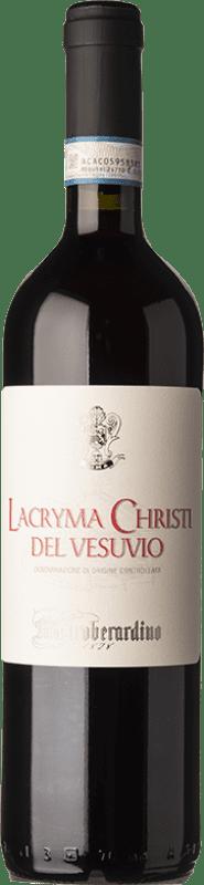 12,95 € Free Shipping   Red wine Mastroberardino Lacryma Christi Rosso D.O.C. Vesuvio Campania Italy Piedirosso Bottle 75 cl