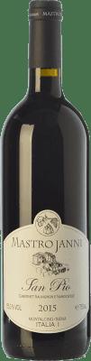 25,95 € Free Shipping | Red wine Mastrojanni San Pio I.G.T. Toscana Tuscany Italy Cabernet Sauvignon, Sangiovese Bottle 75 cl