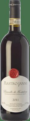 61,95 € Free Shipping | Red wine Mastrojanni D.O.C.G. Brunello di Montalcino Tuscany Italy Sangiovese Bottle 75 cl