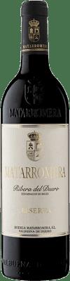 39,95 € Envío gratis | Vino tinto Matarromera Reserva D.O. Ribera del Duero Castilla y León España Tempranillo Botella 75 cl