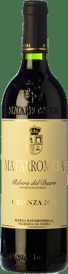 48,95 € Kostenloser Versand | Rotwein Matarromera Crianza D.O. Ribera del Duero Kastilien und León Spanien Tempranillo Magnum-Flasche 1,5 L