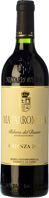 48,95 € Free Shipping | Red wine Matarromera Crianza D.O. Ribera del Duero Castilla y León Spain Tempranillo Magnum Bottle 1,5 L
