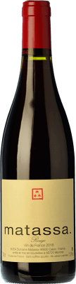 55,95 € Free Shipping | Red wine Matassa Rouge Reserva I.G.P. Vin de Pays Côtes Catalanes Languedoc-Roussillon France Carignan Bottle 75 cl