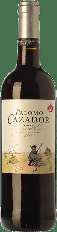 8,95 € Free Shipping | Red wine Mataveras Palomo Cazador Joven D.O. Ribera del Duero Castilla y León Spain Tempranillo, Merlot Bottle 75 cl