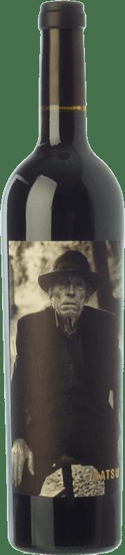 25,95 € Envío gratis | Vino tinto Matsu Etiqueta B/N Crianza D.O. Toro Castilla y León España Tinta de Toro Botella 75 cl