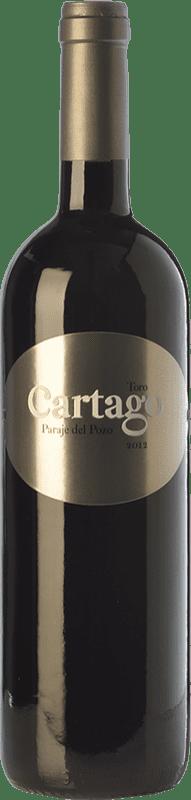 96,95 € Spedizione Gratuita | Vino rosso Maurodos Cartago Paraje del Pozo Crianza D.O. Toro Castilla y León Spagna Tinta de Toro Bottiglia 75 cl