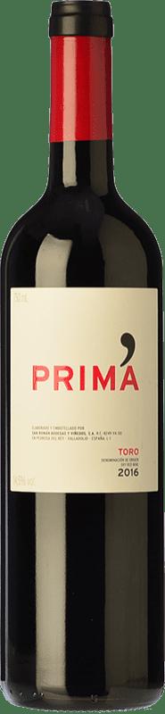 11,95 € Spedizione Gratuita | Vino rosso Maurodos Prima Crianza D.O. Toro Castilla y León Spagna Grenache, Tinta de Toro Bottiglia 75 cl