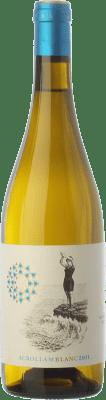 13,95 € Kostenloser Versand | Weißwein Mesquida Mora Acrollam Blanc D.O. Pla i Llevant Balearen Spanien Chardonnay, Parellada, Premsal Flasche 75 cl