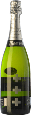 45,95 € Free Shipping | White sparkling Mestres Mas Via Brut Gran Reserva 2000 D.O. Cava Catalonia Spain Macabeo, Xarel·lo, Parellada Bottle 75 cl | Thousands of wine lovers trust us to get the best price guarantee, free shipping always and hassle-free shopping and returns.