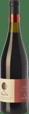 8,95 € Free Shipping | Red wine Miceli Baaria I.G.T. Terre Siciliane Sicily Italy Syrah Bottle 75 cl