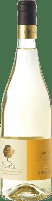 9,95 € Free Shipping | White wine Miceli Baaria I.G.T. Terre Siciliane Sicily Italy Grillo Bottle 75 cl
