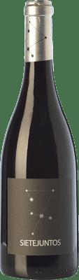 29,95 € Free Shipping | Red wine Microbio Ismael Gozalo Sietejuntos Crianza Spain Merlot Bottle 75 cl