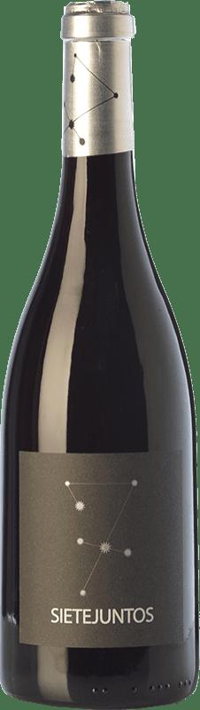 23,95 € Free Shipping | Red wine Microbio Ismael Gozalo Sietejuntos Crianza Spain Merlot Bottle 75 cl