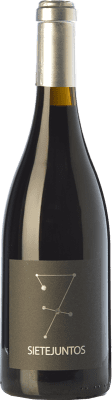 23,95 € Free Shipping | Red wine Microbio Ismael Gozalo Sietejuntos Crianza Spain Syrah Bottle 75 cl
