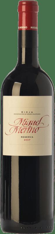 25,95 € Free Shipping | Red wine Miguel Merino Reserva D.O.Ca. Rioja The Rioja Spain Tempranillo, Graciano Bottle 75 cl