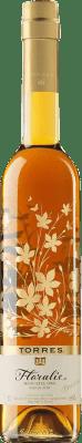 8,95 € Envio grátis   Vinho doce Torres Floralis Moscatel Oro Espanha Mascate de Alexandria Meia Garrafa 50 cl
