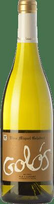 18,95 € Envoi gratuit | Vin blanc Miquel Gelabert Golós Blanc Crianza D.O. Pla i Llevant Îles Baléares Espagne Muscat, Viognier, Riesling, Giró Blanc Bouteille 75 cl