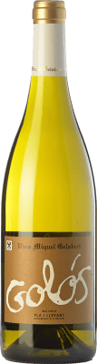 11,95 € Envío gratis | Vino blanco Miquel Gelabert Golós Blanc Crianza D.O. Pla i Llevant Islas Baleares España Moscatel, Viognier, Riesling, Giró Blanca Botella 75 cl