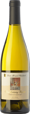 33,95 € Free Shipping | White wine Miquel Gelabert Roure Selección Especial Crianza D.O. Pla i Llevant Balearic Islands Spain Chardonnay Bottle 75 cl