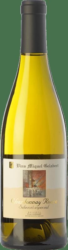 27,95 € Envío gratis | Vino blanco Miquel Gelabert Roure Selección Especial Crianza D.O. Pla i Llevant Islas Baleares España Chardonnay Botella 75 cl