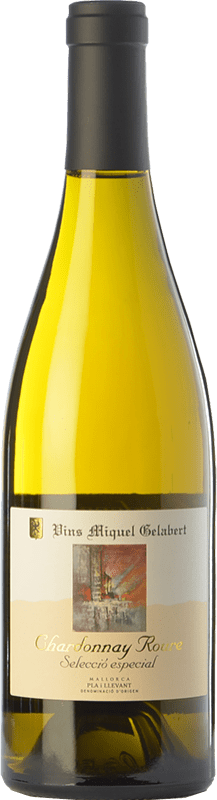 37,95 € Free Shipping | White wine Miquel Gelabert Roure Selección Especial Crianza D.O. Pla i Llevant Balearic Islands Spain Chardonnay Bottle 75 cl