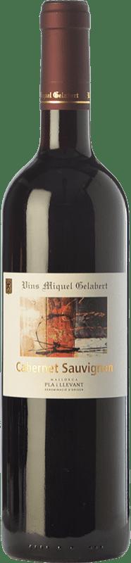 15,95 € Envío gratis | Vino tinto Miquel Gelabert Cabernet Sauvignon Crianza D.O. Pla i Llevant Islas Baleares España Merlot, Cabernet Sauvignon Botella 75 cl