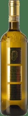 14,95 € Free Shipping | White wine Monchiero Carbone Cecu D.O.C.G. Roero Piemonte Italy Arneis Bottle 75 cl