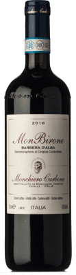 36,95 € Free Shipping | Red wine Monchiero Carbone MonBirone D.O.C. Barbera d'Alba Piemonte Italy Barbera Bottle 75 cl