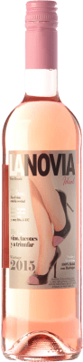8,95 € Free Shipping | Rosé wine Mondo Lirondo La Novia Ideal D.O. Valencia Valencian Community Spain Bobal Bottle 75 cl
