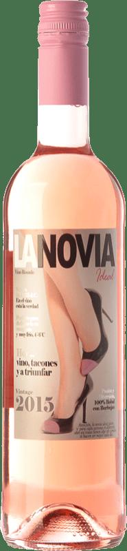 7,95 € Free Shipping | Rosé wine Mondo Lirondo La Novia Ideal D.O. Valencia Valencian Community Spain Bobal Bottle 75 cl