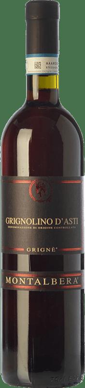 7,95 € Free Shipping | Red wine Montalbera Grignè D.O.C. Grignolino d'Asti Piemonte Italy Grignolino Bottle 75 cl
