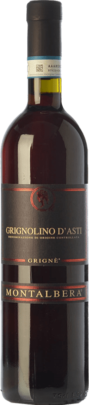 7,95 € Envoi gratuit | Vin rouge Montalbera Grignè D.O.C. Grignolino d'Asti Piémont Italie Grignolino Bouteille 75 cl