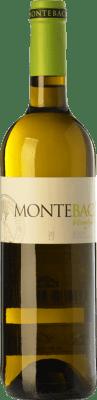 9,95 € Envio grátis | Vinho branco Montebaco D.O. Rueda Castela e Leão Espanha Verdejo Garrafa 75 cl | Milhares de amantes do vinho confiam em nós com a garantia do melhor preço, envio sempre grátis e compras e devoluções sem complicações.