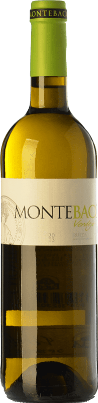 9,95 € Free Shipping | White wine Montebaco D.O. Rueda Castilla y León Spain Verdejo Bottle 75 cl