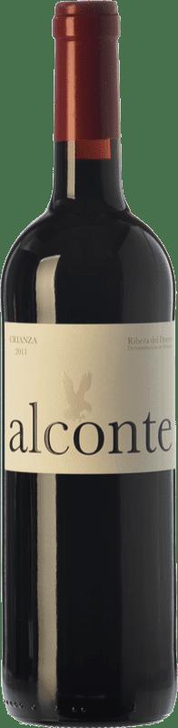 11,95 € Free Shipping | Red wine Montecastro Alconte Crianza D.O. Ribera del Duero Castilla y León Spain Tempranillo Bottle 75 cl