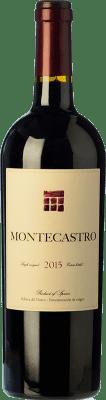 21,95 € Kostenloser Versand | Rotwein Montecastro Crianza D.O. Ribera del Duero Kastilien und León Spanien Tempranillo, Merlot Flasche 75 cl