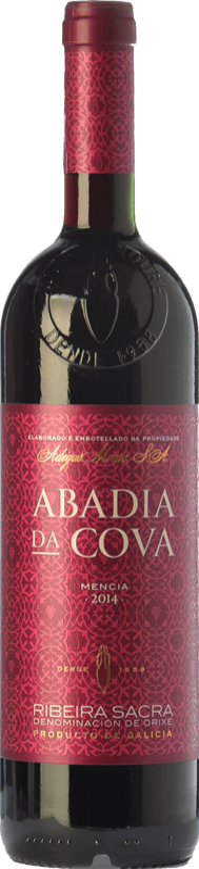 9,95 € Free Shipping | Red wine Moure Abadía da Cova Joven D.O. Ribeira Sacra Galicia Spain Mencía Bottle 75 cl
