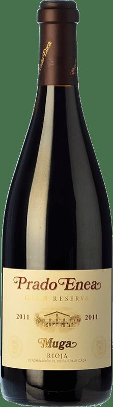 56,95 € Free Shipping | Red wine Muga Prado Enea Gran Reserva 2011 D.O.Ca. Rioja The Rioja Spain Tempranillo, Grenache, Graciano, Mazuelo Bottle 75 cl