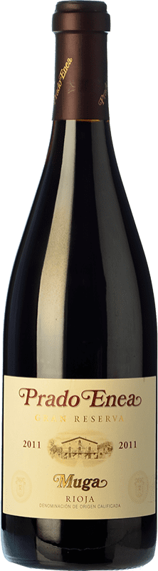 49,95 € Free Shipping | Red wine Muga Prado Enea Gran Reserva D.O.Ca. Rioja The Rioja Spain Tempranillo, Grenache, Graciano, Mazuelo Bottle 75 cl