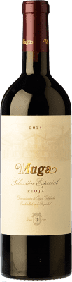 27,95 € Free Shipping | Red wine Muga Selección Especial Reserva D.O.Ca. Rioja The Rioja Spain Tempranillo, Grenache, Graciano, Mazuelo Bottle 75 cl | Thousands of wine lovers trust us to get the best price guarantee, free shipping always and hassle-free shopping and returns.