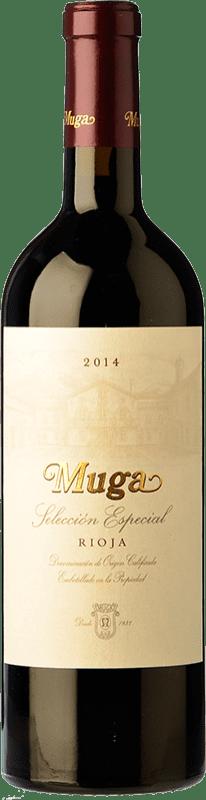 29,95 € Free Shipping | Red wine Muga Selección Especial Reserva D.O.Ca. Rioja The Rioja Spain Tempranillo, Grenache, Graciano, Mazuelo Bottle 75 cl